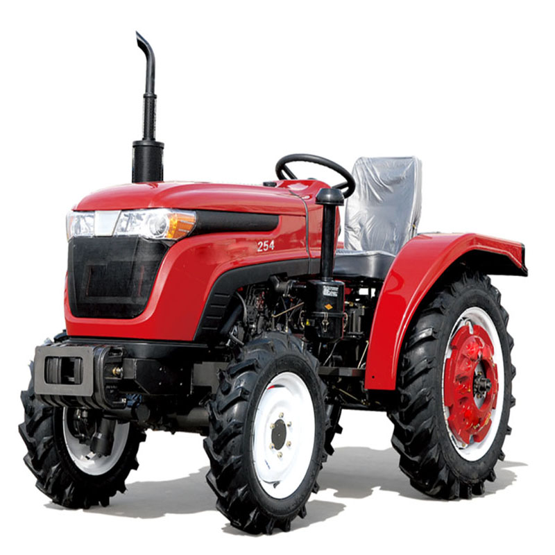 hot sale machine agricultural mini farm wheeled 25HP tractor
