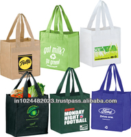 Reusable waterproof grocery shopping bag