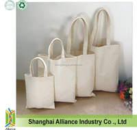 Blank Plain Calico Cotton Tote Bags
