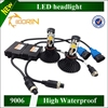 5000K Highest luminous flux ever Integrated cooling system led headlights 9006