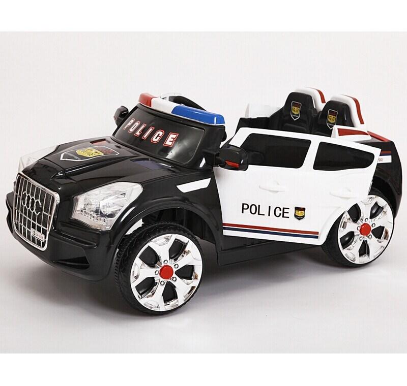 2015 date 2 places enfants voiture lectrique voiture de police jouet pour b b voiture de. Black Bedroom Furniture Sets. Home Design Ideas