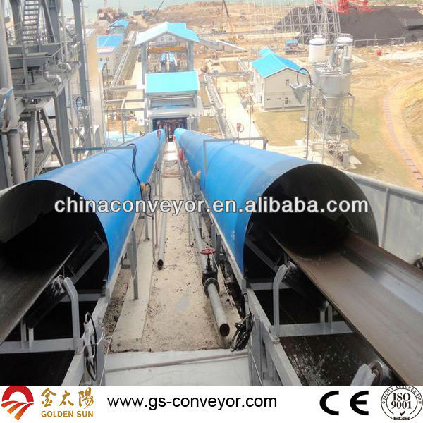 Long Distance pharmaceutical belt conveyor