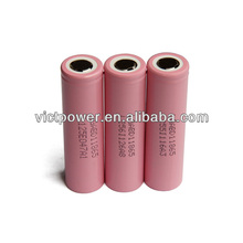 lithium battery ICR18650 3000MAH For lg
