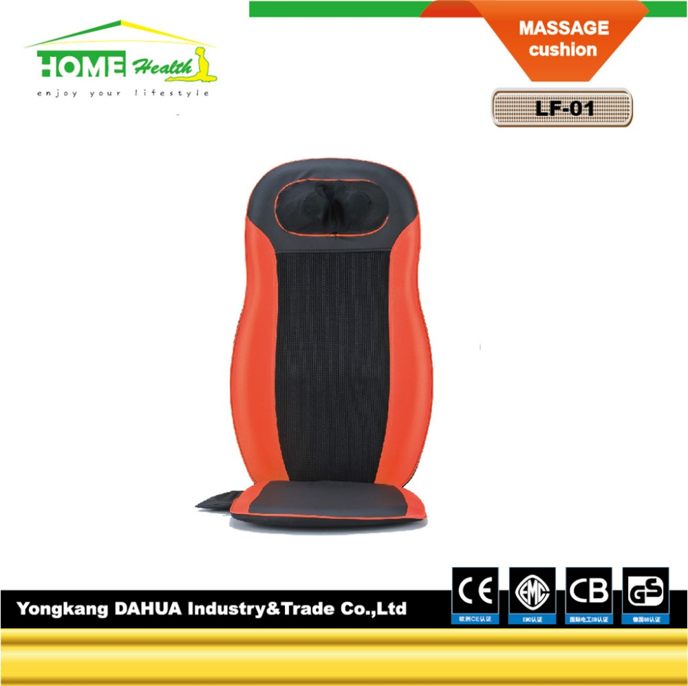 Safety And Environment Electronic Blood Circulation Reflexology Air Compression Neck And Back Massage cushion