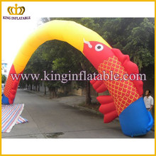Customized large inflatable event arch,outdoor inflatable entrance arch for sale
