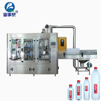 Excellent quality auto bottled mineral rotating water filling machine