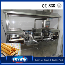 Skywin Butter Egg roll production line wafer biscuit machine