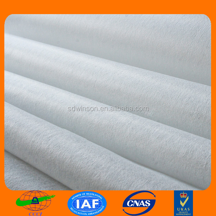 polyester/rayon spunlace nonwoven fabric for wet wipes high quality alibaba.com