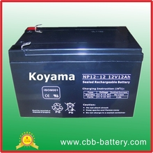12v 12ah lead acid battery for e-bike / ups