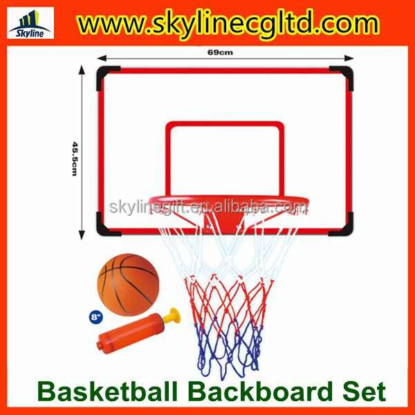 Outdoor/indoor hot sale plastic hoop basketball backboard