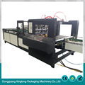 Industrial use automatic stacking 4 corner folder gluer