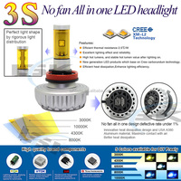New super high power 3S 9005 motorcycle&car led headlight kit 5 color temperature available