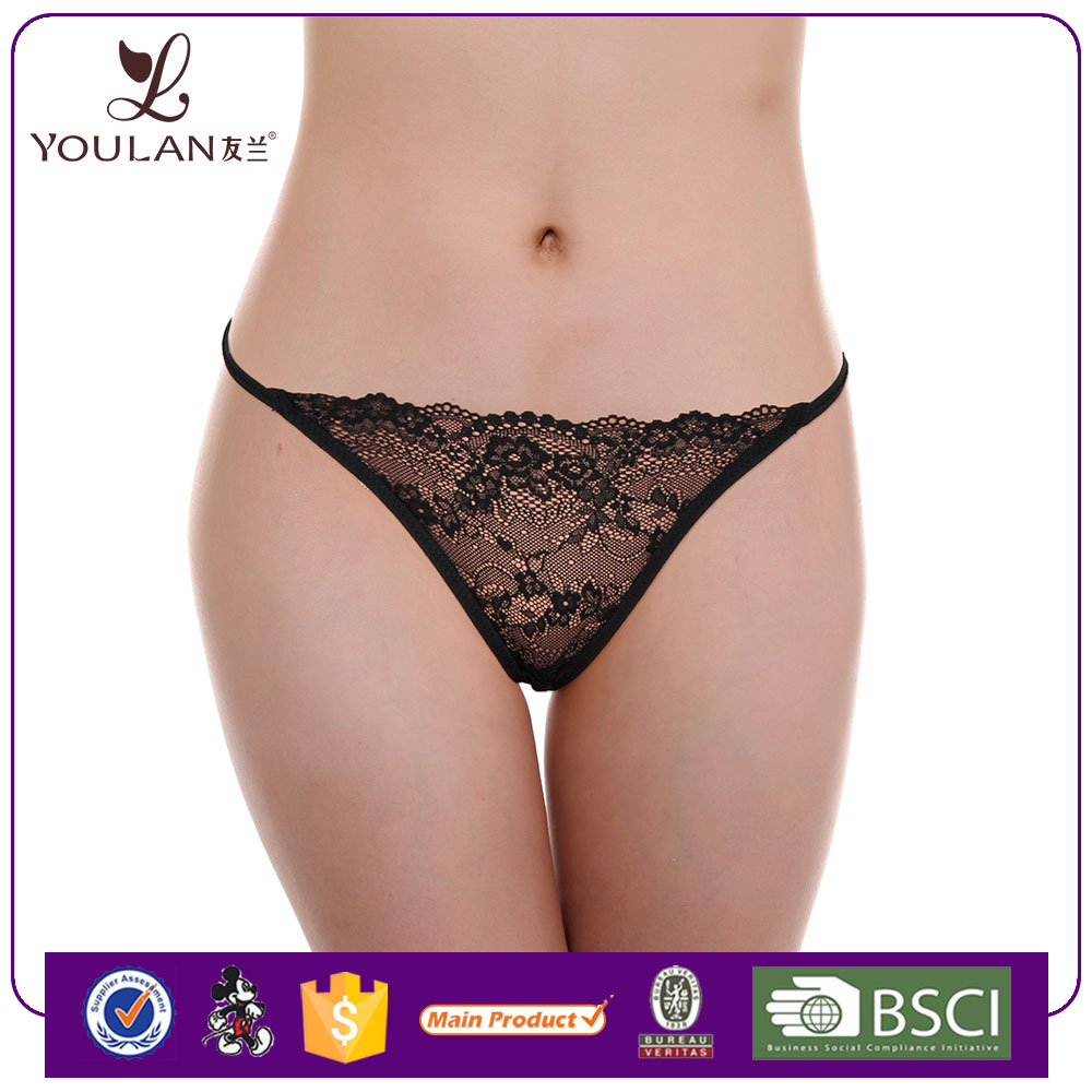 Hot Sale Comfortable Sexy Lady Printed Thong Children Underwear