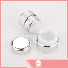 Wholesale 50ml double wall empty acrylic cosmetic container