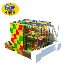 CE approved rock climbing wall playground equipment
