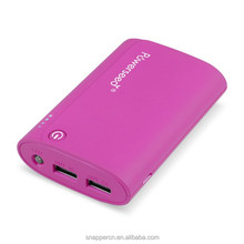 Mobile Phones Accessory Portable Phone Charger Dual USB output compatible to smartphone and tablet at the same time