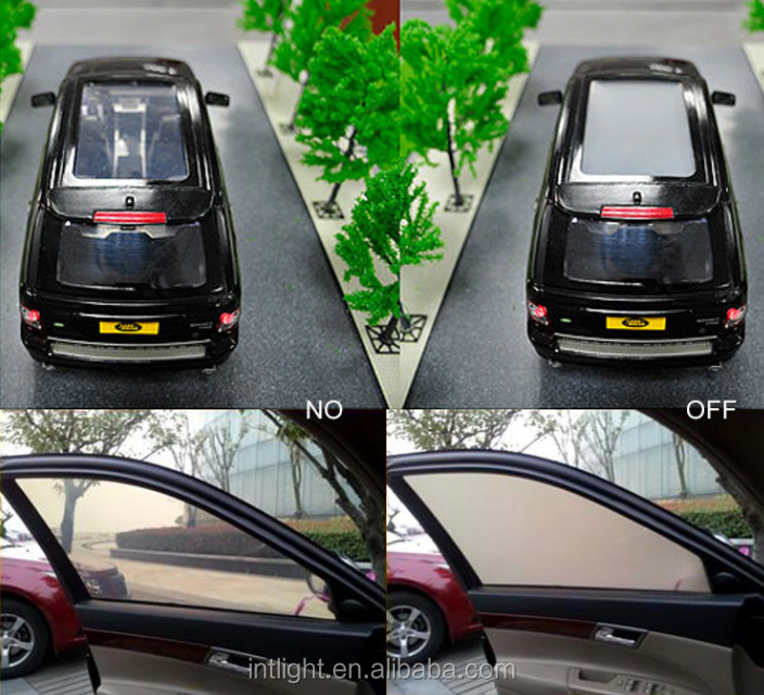 Hi-tech Self-adhesive electric car window smart tint film