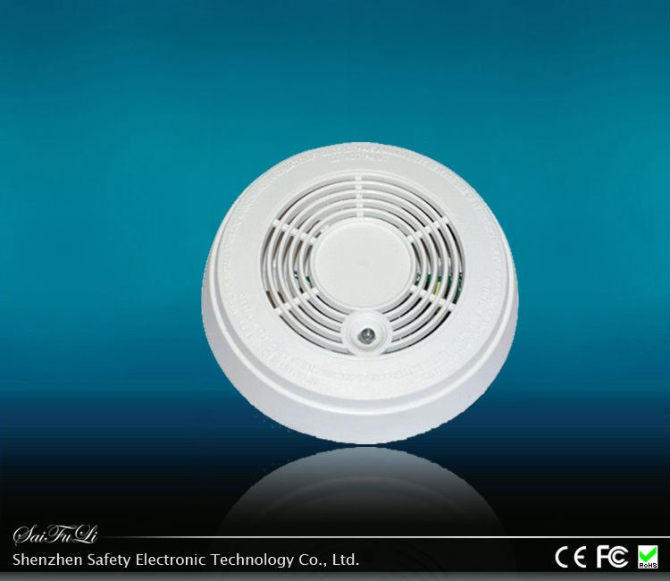 Hot Sale Novelty Conventional 12V Photoelectric Smoke Detector With Relay Output