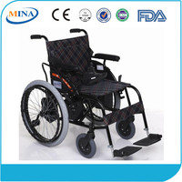MINA-LD4-F Folding Power Electric Wheelchair For Disabled People