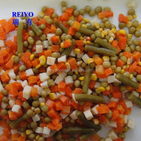 mixed canned vegetables in brine