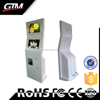 100% Warranty Lcd Kiosk Touchscreen Photo Information With Printer