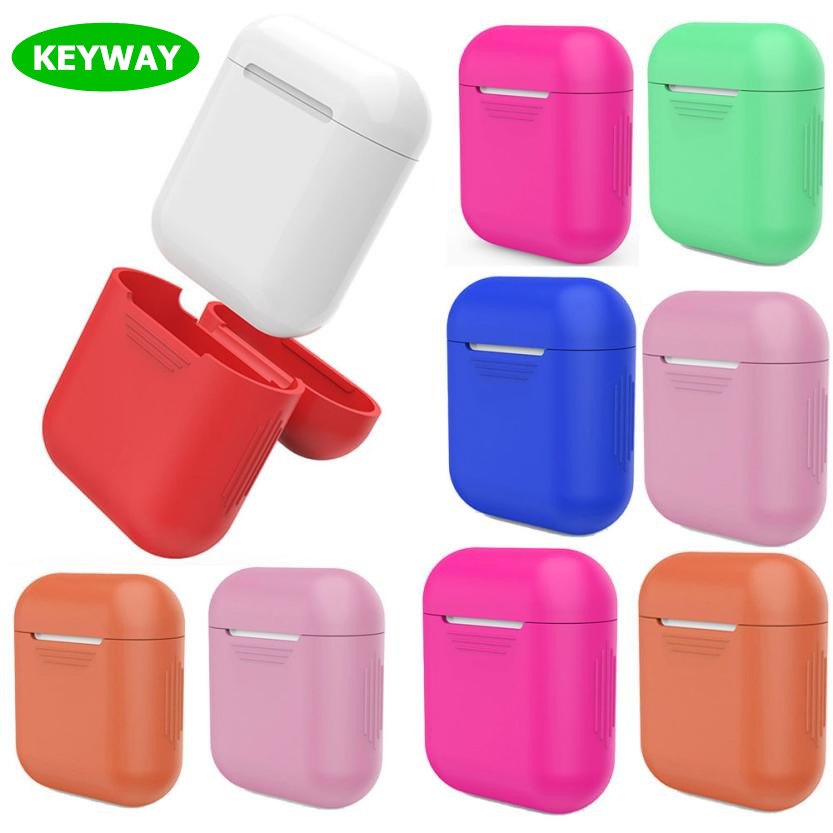 2017 NEW!!! Soft TPU Cover Ultra Thin Silicone Case For Apple Airpods