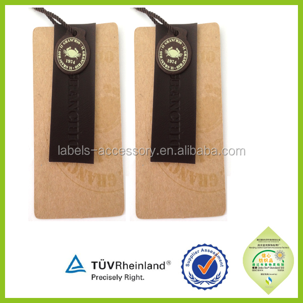 Special made Different kinds of hang tag famous brands