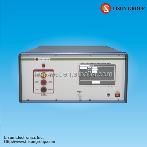 SUG255LX Impulse Withstand Voltage Tester is suitable for doing energy meter