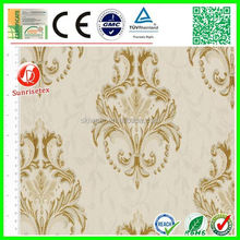 Hot sale elegant polyester cotton jacquard fabric for home textile