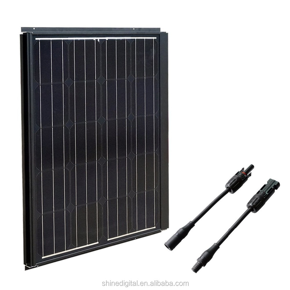 high efficiency poly-crystalline 12V 90w solar panel price india