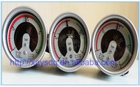 All Stainless steel electric contact pressure gauge,SF6 gas manometer