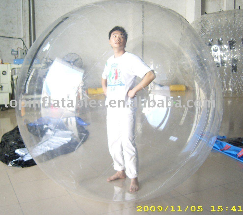 inflatable zorb ball/water walkers