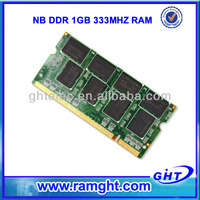 Best product to import to USA FCC CE RoHS 2x1GB pc2700 ddr laptop memory 2gb