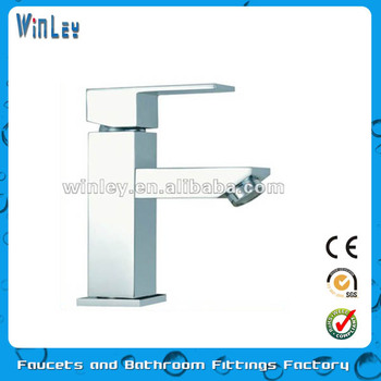 Chrome Plated Single Handle Brass Faucet