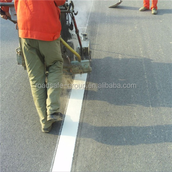Thermoplastic road marking paint traffic hot paint