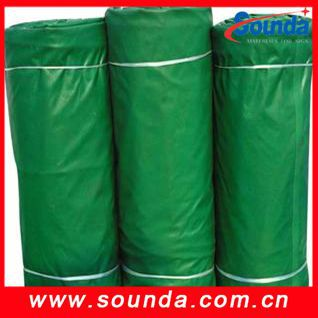Good quality anti uv PVC tarpaulin with eyelet for tents