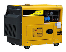 small portable super silent diesel generating set