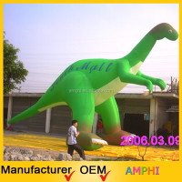 Giant Inflatable Dinosaur Fixed Giant Cartoon Characters for Advertising