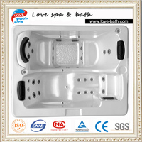 Chinese supplier mini indoor hot tub,jazzy hydro spa hot tub