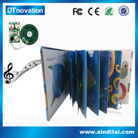 Lowest overseas book printing kids sound books