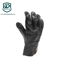 Cotton Line Latex Household Gloves CE or ISO Approved