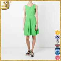 New Arrival fashion african wear sleeveless simple mini dress for women