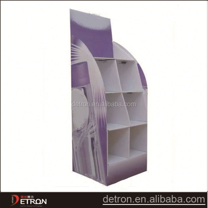 large capacity new cardboard display cabinet