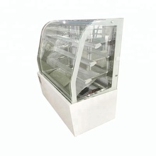 cake double curved display refrigerator showcase