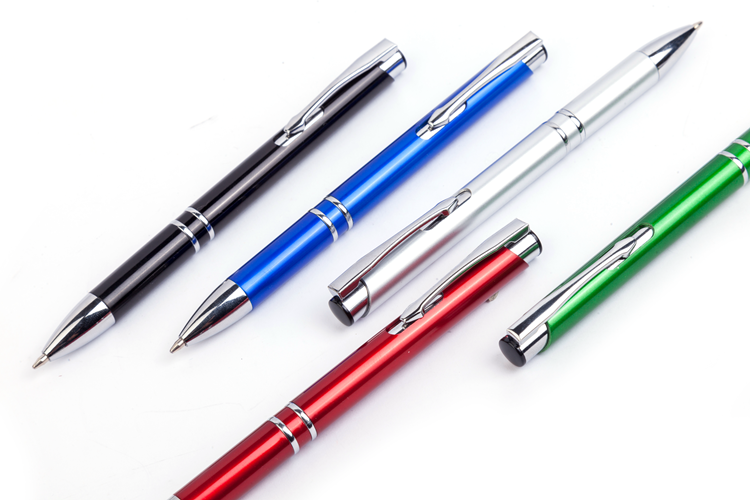 Hot Selling Products Customized Logo Printed Oem Design Multi Color Novelty Metal Pen