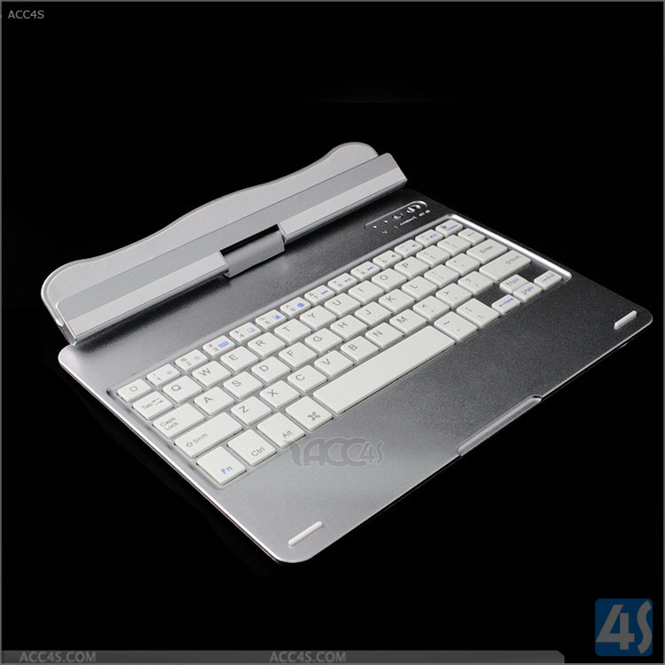 Slim Rotatable Design For iPad Air 2 Bluetooth Keyboard, Aluminum+ABS Bluetooth 3.0 for iPad Air 2 Wireless Keyboard