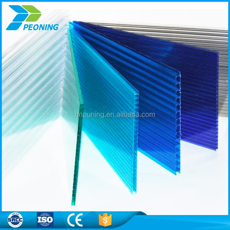 greenhouse uv plastic sheets polycarbonate canopy roof