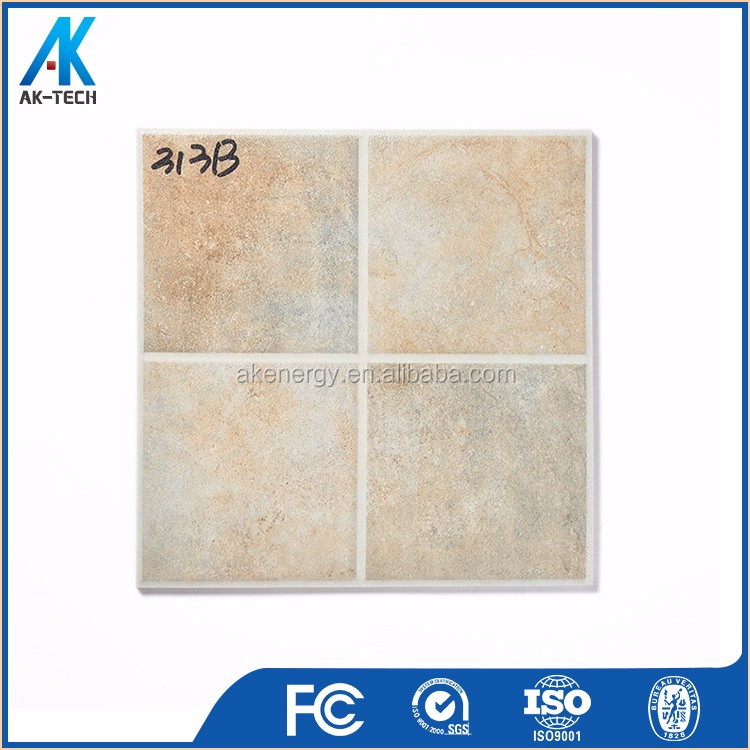 chinese cheap ceramic porcelain floor tile price , decoration non-slip bathroom floor tile design