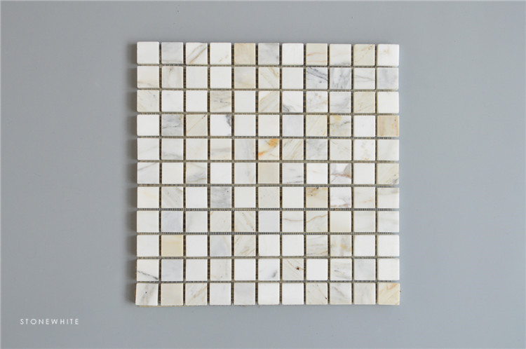Square Mosaic Kitchen Tile Square Shape Mosaic Tile Mosaic Silver Kitchen Backsplash Tiles