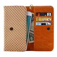 Newest Products Wallet Style Leather 5.5 Inch Universal Phone Case
